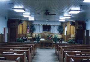 Klondike Baptist-InsideSanctuary-1956-2005