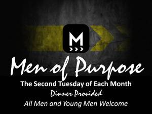 Men of Purpose at Klondike Baptist Church